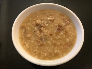 Turkey Congee Best Use of Leftovers